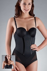 Figurformender Body, tr�gerlos von Maidenform
