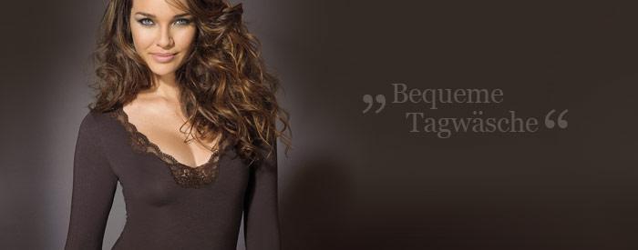Homewear und Tagw�sche - chic & bequem