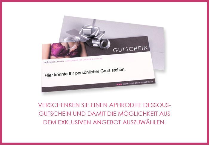 Dessous-Geschenkgutschein