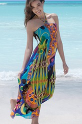 Langes Strandkleid von Antigel