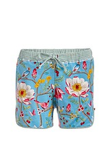 Bella Chinese Garden Trousers short, blue von PIP-Studio