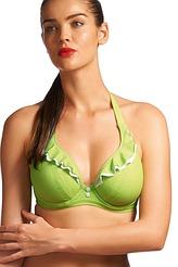 Neckholder-Bikini-Oberteil mit Bügel von Freya