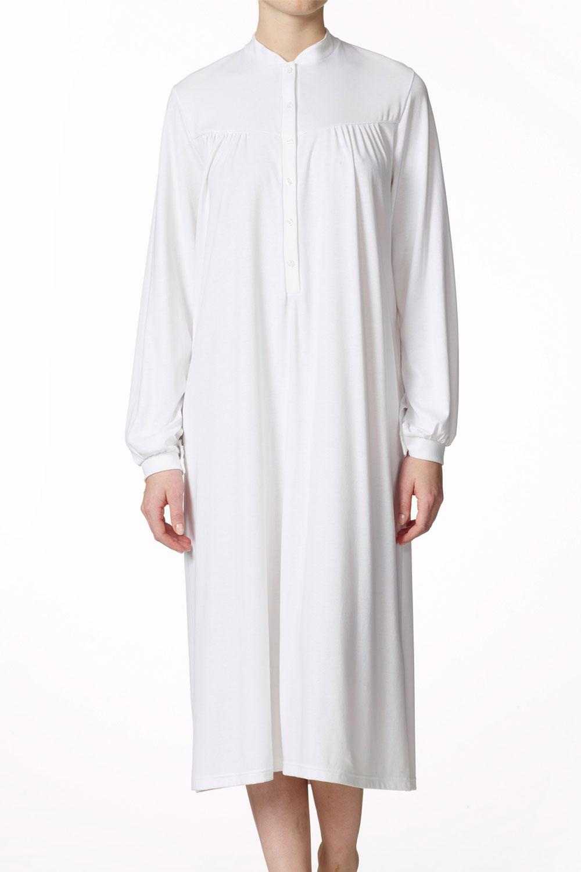 calida langarm nachthemd mit knopfleiste 33800 aphrodite. Black Bedroom Furniture Sets. Home Design Ideas