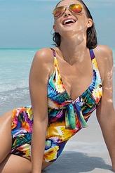 Badeanzug mit Halt ohne B�gel von Antigel