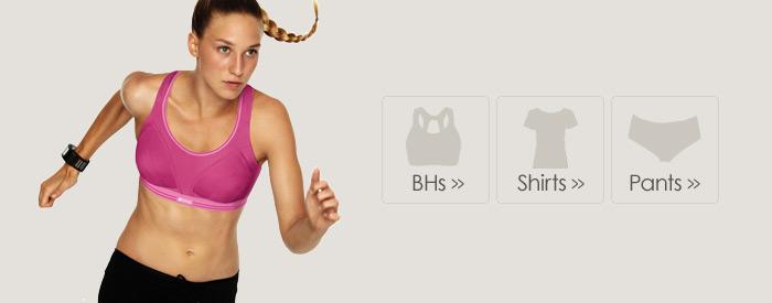 Sport-BHs und Sportshirts online einkaufen
