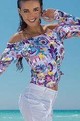 Strand-Bluse von Antigel