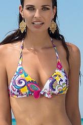 Triangel-Bikini-Oberteil, gef. Schale von Antigel
