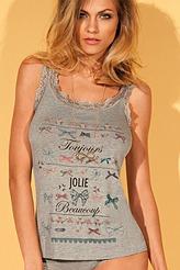Hemdchen mit Print von Cheek