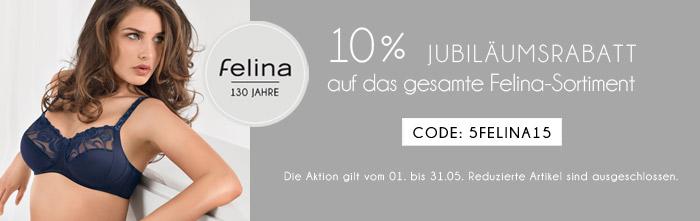 10% Rabatt auf Felina Dessous