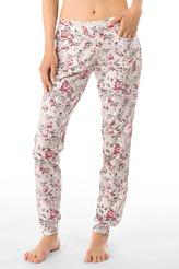 Pants lang, floral print von Calida