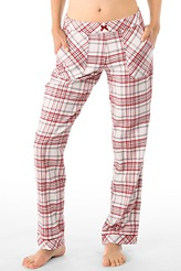 Loungehose lang, Flanell von Calida