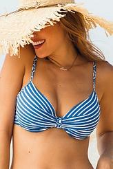 Bikini-Oberteil Paulina Stripe von Rosa Faia