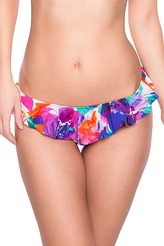 Bikini-Slip mit Rüschen von Watercult