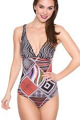 Badeanzug, geformte Schalen von Simone Perele