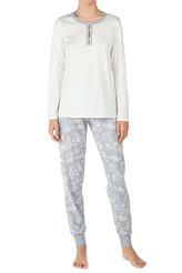 Pyjama, mit Bündchen von Calida