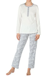 Pyjama mit Knopfleiste von Calida