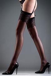 Stockings Lace black von Bluebella