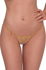 Queen of Love String Gold von Lucky Cheeks