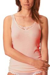 Hemd lang mit Guipure-Motiv von Mey Damenwäsche