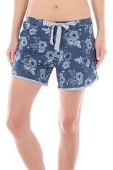 Shorts, Black Iris Blue von Calida