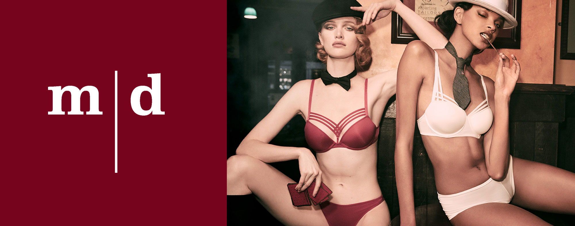 Marlies Dekkers - Dame de Paris red