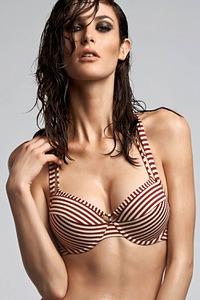 Marlies Dekkers Bademode Push-Up-Bikini-Oberteil, Serie Holi Vintage red