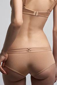 Marlies Dekkers Dessous Brazilian Shorts, Serie Space Odyssey camel