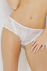 Antigel Dessous Slip Fantasie, Serie Tressage Graphic