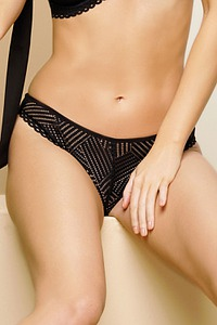 Antigel Dessous String, Serie Tressage Graphic