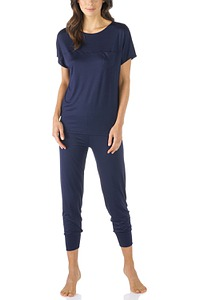 Mey Damenwäsche Nachtwäsche Pyjama 7/8, Serie Selina