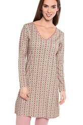 Dana double check Nightdress long sleeve von Pip Studio