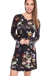 Hazel Fleur Nightdress long sleeve von ESSENZA