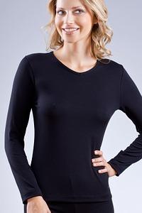 Abbildung zu Sport-Shirt, langarm (56007) der Marke Mey Damenwäsche aus der Serie Body Dry