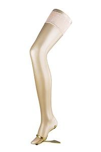 Abbildung zu Halterlose Strümpfe - LUNELLE (41532) der Marke FALKE aus der Serie Luxury, fein