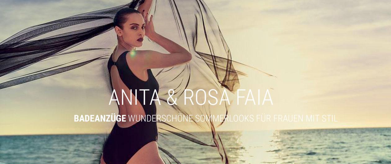 Badeanzüge von Anita und Rosa Faia