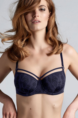 Marlies Dekkers Space Odyssey blue Balconette BH