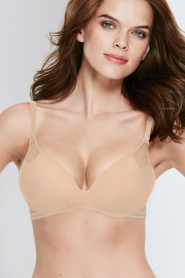 Wonderbra Padding T-Shirt-BH ohne Bügel