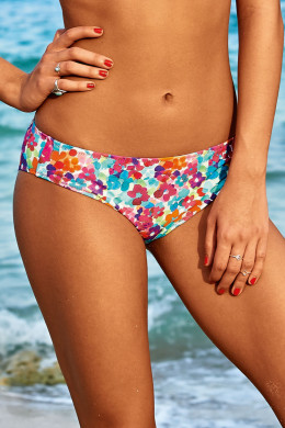 Rosa Faia Tropical Vibes Bikini-Slip Casual Bottom