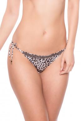 WatercultFloral CamoBikini-Slip Tie-Side leopard