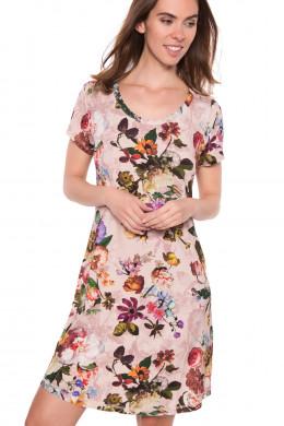 ESSENZAEssenza Homewear 2018Isa Fleur Nightdress short sleeve