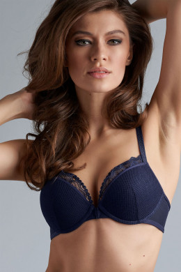 Marlies Dekkers The Mauritshuis maritime blue Push-Up-BH