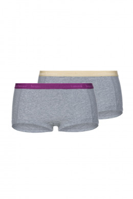 Bruno Banani BB Basic Line Panty, 2er Flooding