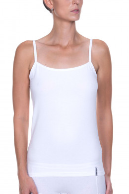 Bruno Banani BB Basic Line Spaghetti-Top, 2er Tender Cotton