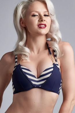 Marlies DekkersMarinièrePush-Up-Bikini-Oberteil