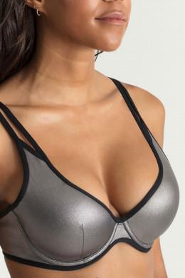 PrimaDonnax Myla Dalbesio SwimTriangel-Bikini-Oberteil, unterlegt