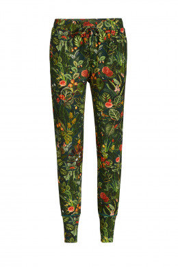 Pip Studio Loungewear 2019-2 Bobien Forest Foliage Trousers Long