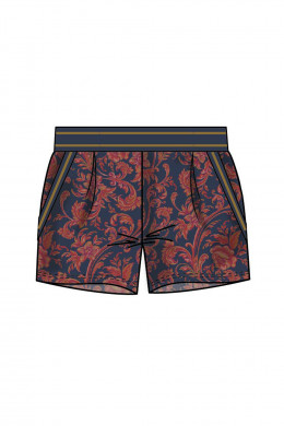 Jockey Hidden Tales - Loungewear Samt Shorts