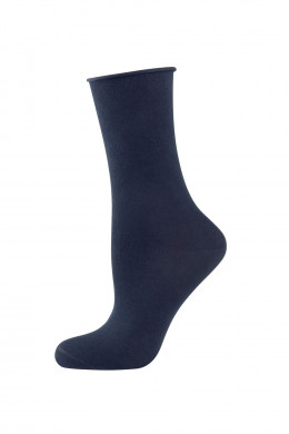 Elbeo Strick Light Cotton Rollbund-Socken
