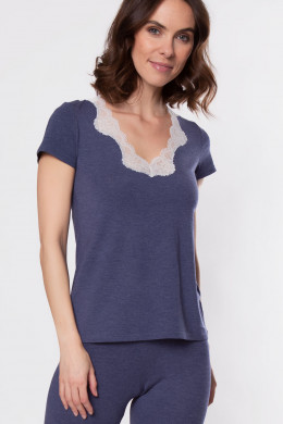 Antigel Simply Perfect Loungewear Shirt kurzarm