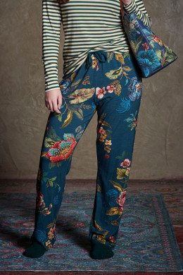 Pip Studio Loungewear 2020-2 Belin Poppy Stitch Trousers Long